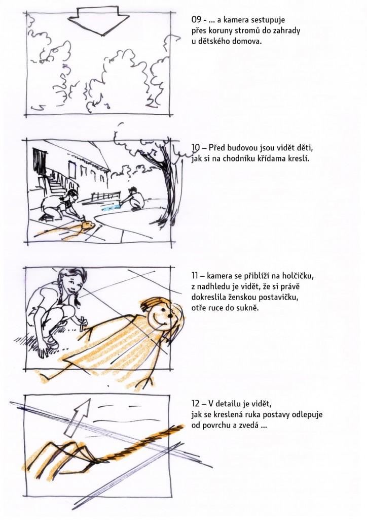 jak vypadá storyboard